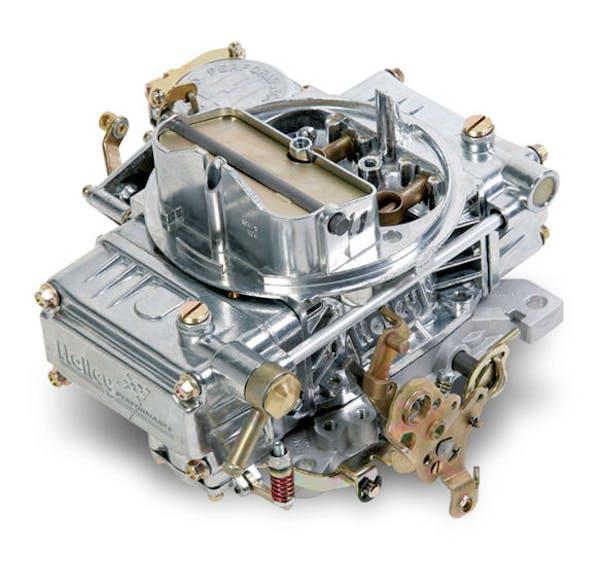 Holley   0-1850SA  600 CFM  4160 Aluminum Street Carburetor